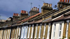 Bostädshus i London