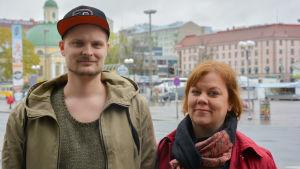 Tom Kivinen och Tanja Raunio.
