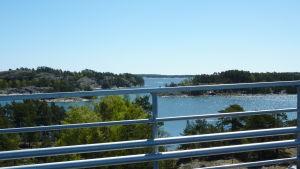 Utsikt från Lövö bro.