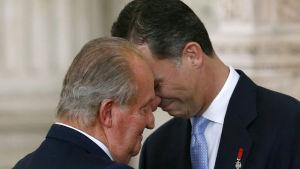 Isä ja poika, Espanjan kuninkaat