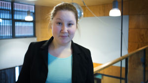 Annika Eskman, styrelseordförande för Arcada studerandekår 2017.