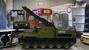 En rysk BUK-missil.