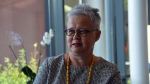 Tuula Jäppinen fick sex röster i stadsdirektörsvalet i Lovisa