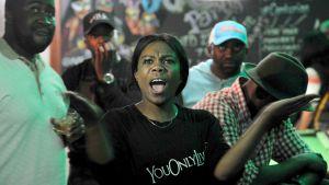 Reaktioner på Mugabes tal 19.11.2017.