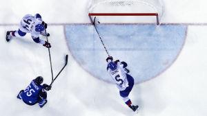 Sakari Manninen, Finland-Sydkorea, OS 2018.