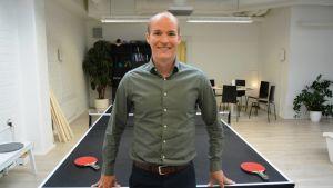 Ted Wallin på Gambit i Vasa.