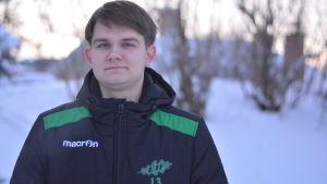 Porträttbild på William Lindqvist.