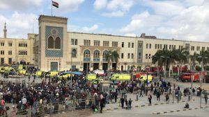 Järnvägsstationen i Kairo