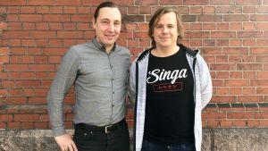Luca Gargano och Nils Paajanen