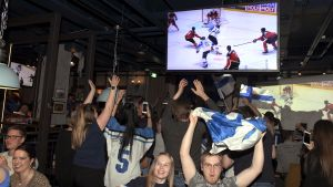 Finlands Herrlandslag i ishockey vinner VM 2019.