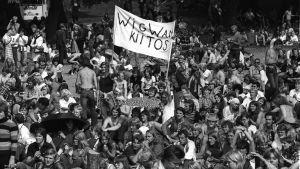 Ruisrockpublik 1977.