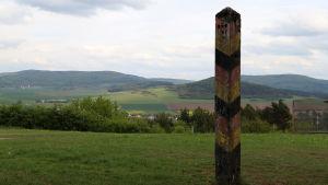 Fulda Gap bjuder på relativt platt mark mellan bergen