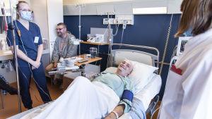 Anders saa isältään henkensä pelastavan kantasolusiirron.