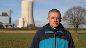 Sebastian Rötters från miljö- och människorättsorganisationen Urgewald