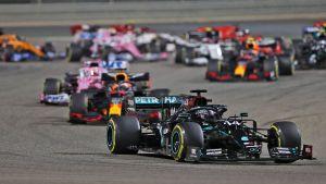 Formel 1-bilar.