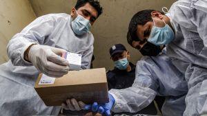 Gaza får sputnikvaccin 17.2.2021