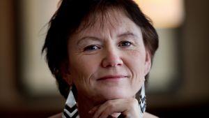 Norjalainen runoilija Irene Karin Kristin Larsen