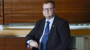 Ingenjörsförbundets ordförande Pertti Porokari.