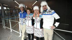 OS-lagets dräkter 2018
