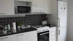 ett kök i ett äldreboende