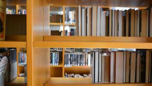 tom hylla på lovisa bibliotek