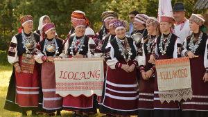 Fotot taget på Setufolkets kulturfestival i Radajal 2016.