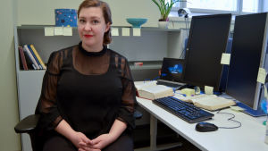Charlotte Cederbom som för tretton år sedan flyttade från Sverige till Finland.