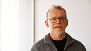 Organisten Mikael Helenelund från Borgå