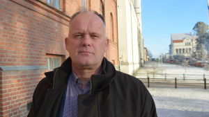 Stadsstyrelsens ordförande Owe Sjölund (SFP).