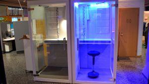 Antibakteriell belysning i Sibbo kommuns arbetslokaliteter