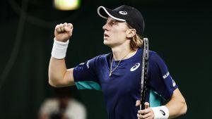 Emil Ruusuvuori är klar för andra omgången i US Open.