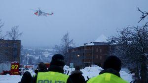 Jordskred i Gjerdrum i Norge