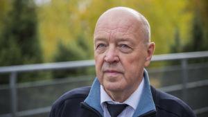 Päivystävä päällikkö Stig Granström Länsi-Uudenmaan pelastuslaitoksesta