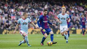 Lionel Messi i matchen Barcelona-Celta Vigo.
