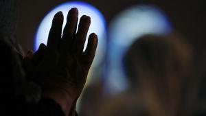 Händer som ber