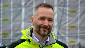 Porträtt av Ulf Stenbacka, teknisk direktör på Vasa sjukvårdsdistrikt.