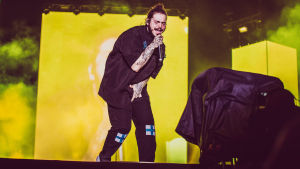 Post Malone Blockfesteillä.