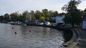 Norra hamnen och baywatch i ekenäs.