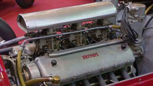 En Ferrari-motor.