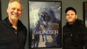 Filmproducentern Espen Horn och Kristian Strand Sinkerud