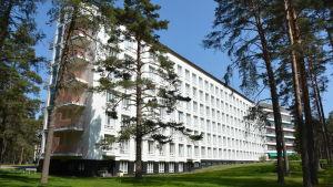 Patientvingen på Pemar sanatorium.
