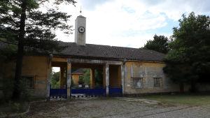 Portbyggnad till tidigare sovjetiskt militärområde i Tyskland.