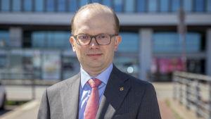 Penna Urrila, chefsekonom vid Finlands Näringsliv EK.