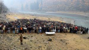 Begravning i Kashmir