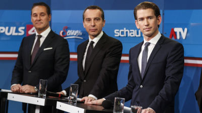 Hardare tag i finska valkampanjen