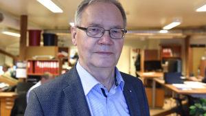 Kurt-Erik Nordin, vd, Närpes Trä & Metall