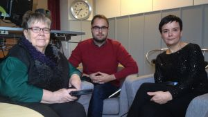 Ritva Granholm, Markus Blomqvist, Senada Arnautovic