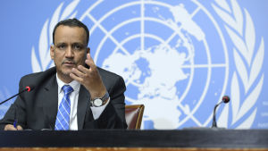 Ismail Ould Cheikh Ahmed, FN:s specialsändebud i Jemen.