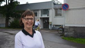 Hannele Söderholm från Hangö.