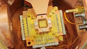 Processorn i en kvantdator.